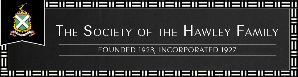 Society of the Hawley Family logo